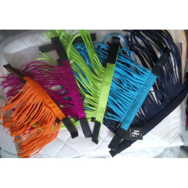 Fede Flue pande bånd i NEON farver PONY/COB