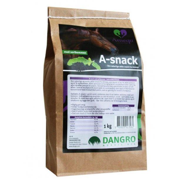 A-Snack fra Amequ Sortkommen