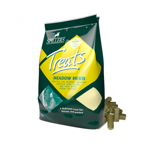Spillers Treats Meadow Herb hestebolcher 3,5kg.