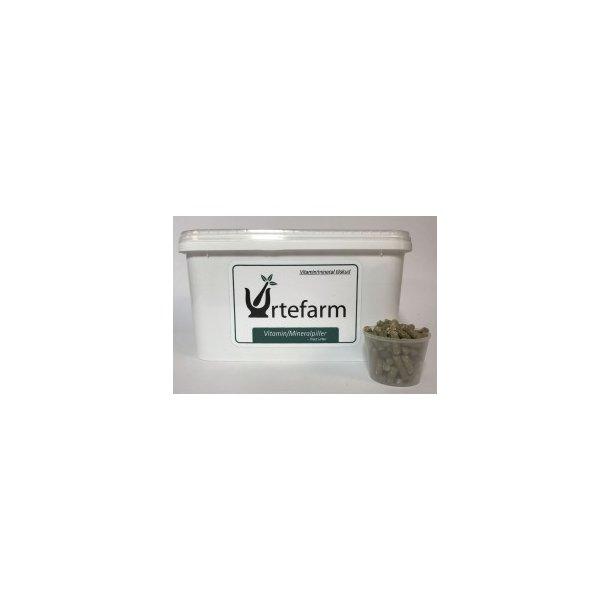 Mineral og Vitaminpiller med Urter 3 kg.